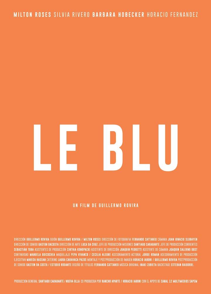 Le Blu, poster, shortsfit