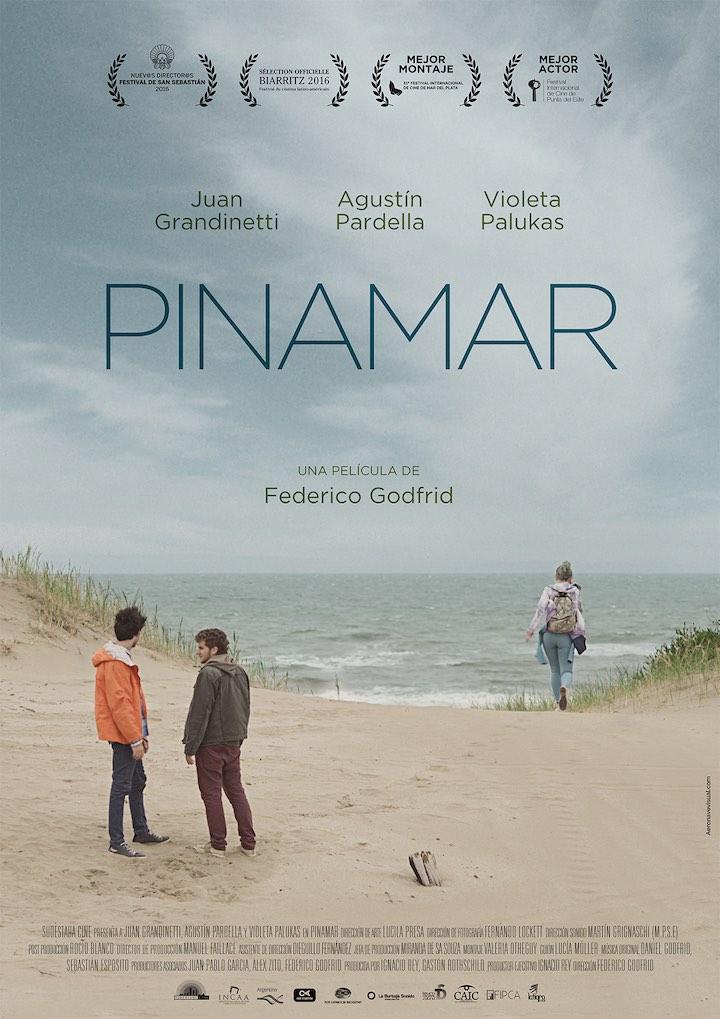 Pinamar poster, shortsfit